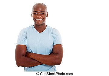 człowiek, afrykańska amerikanka, młody