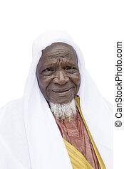 człowiek, eighty-year-old, afrykanin