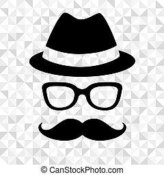 człowiek, hipster