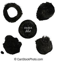 czarna kropelka, zbiór