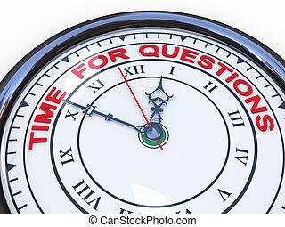 czas, -, 3d, pytania, zegar