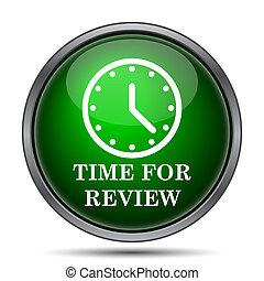 czas, ikona, rewizja
