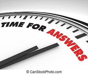 czas, -, odpowiedzi, zegar