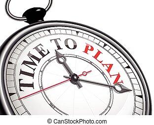 czas, plan, zegar, pojęcie