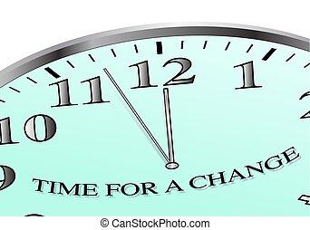 czas, zmiana, zegar