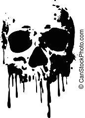 czaszka, blood2