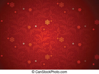 czerwone tło, struktura, boże narodzenie