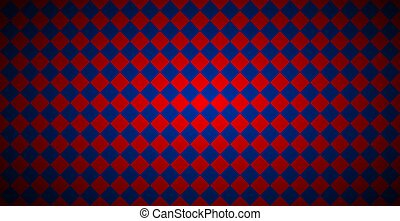 czerwony, cyrk, błękitne tło