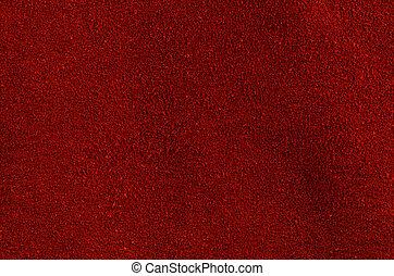 czerwony, skóra