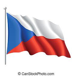 czeska bandera, republika