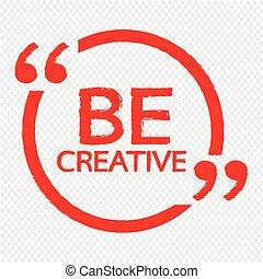 czuć się, projektować, ilustracja, twórczy