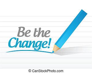 czuć się, wiadomość, projektować, zmiana, ilustracja