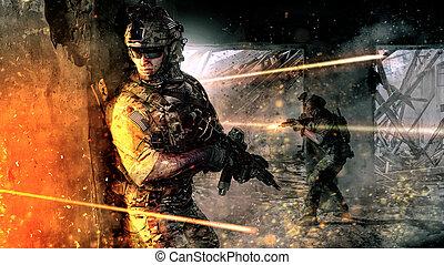 czyn, wojsko, armia