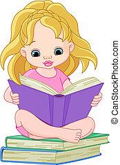 czytanie, dziewczyna