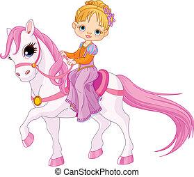 dama, koń