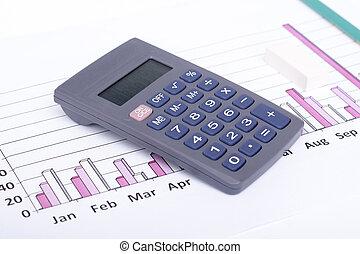 dane, analizując, finansowy