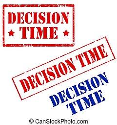 decyzja, time-stamps