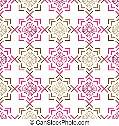 dekoracyjny, 10, abstrakcyjny, eps, ilustracja, seamless, wektor, tło, style., design.