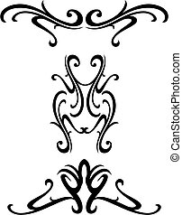 dekoracyjny, plemienny, projektować