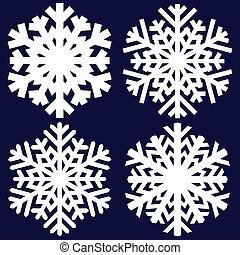 dekoracyjny, snowflake., abstrakcyjny