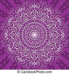 dekoracyjny wzór, okrągły