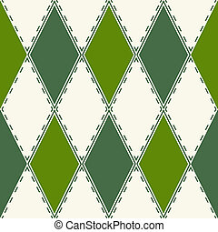 dekoracyjny wzór, rhombuses