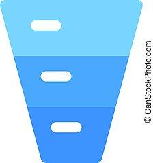 diagram, komin, plecowy