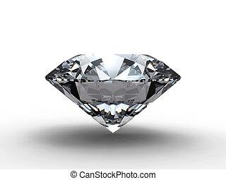 diament, odbicie