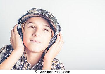 dobry, muzyka, słuchać