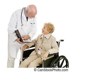 doktor, konsultacja, pacjent