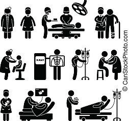 doktor, niańczenie operacji, szpital