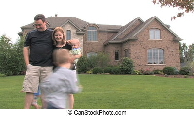 dom, 3, luksus, rodzina