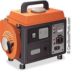 dom, dostarczcie energii elektrycznej generator
