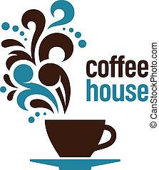 dom, kawa