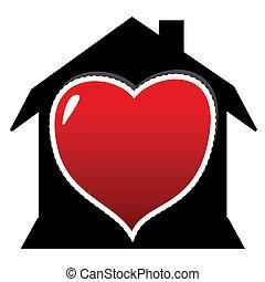 dom, miłość