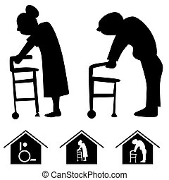 dom, pielęgnacja, ikony