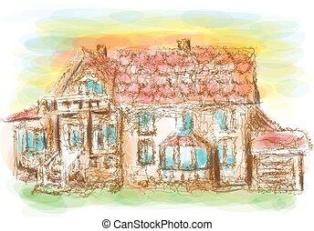 dom, wzór