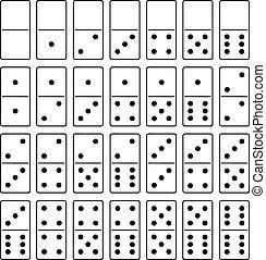 domino wystawiają