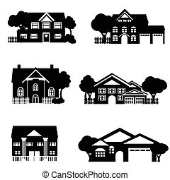 domy, jednorazowa rodzina