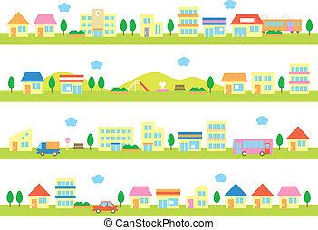 domy, ulica, prowiantowy
