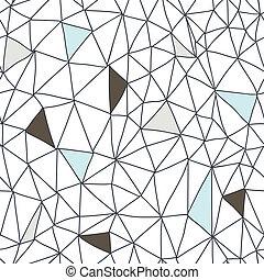 doodle, abstrakcyjny, seamless, próbka