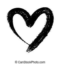 doodle, serce