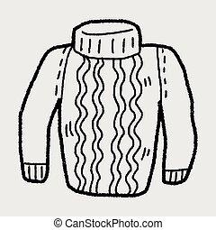 doodle, sweter