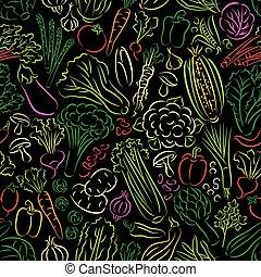 doodle, warzywa, próbka