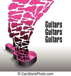 dosyć, nigdy, gitary