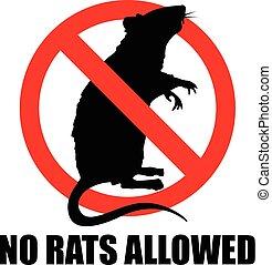dozwolony, nie, szczury