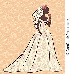 dress., panna młoda, piękny