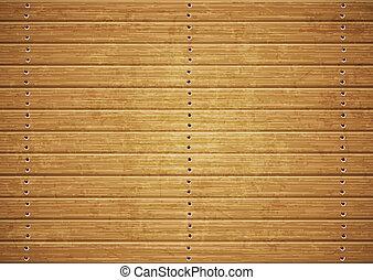 drewniana deska, struktura
