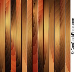 drewniany, brązowy, wektor, struktura, tło