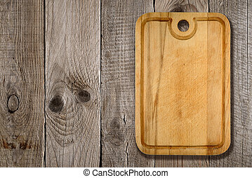 drewniany, cięcie deska, tło